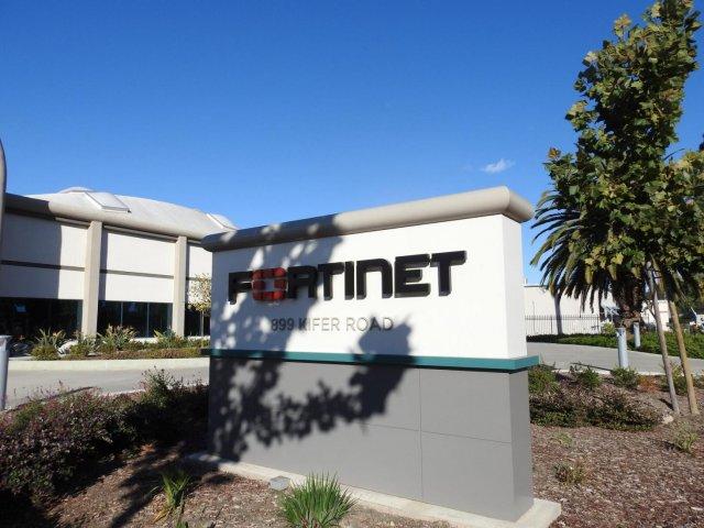 Рост цены акций компании Fortinet