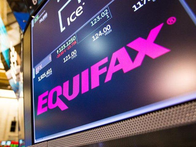 Падение акций Equifax Inc. тикер EFX