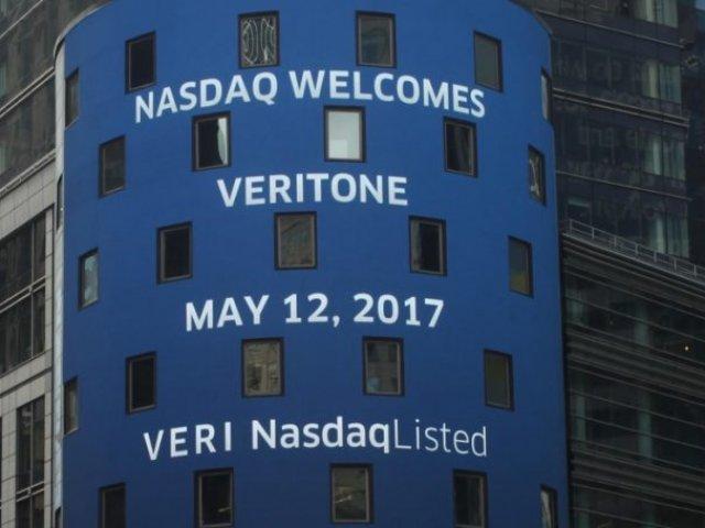 Компания Veritone Inc торгуется на бирже